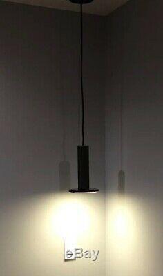 Pablo Cielo Flat Panel LED Pendant Light Black ret $290