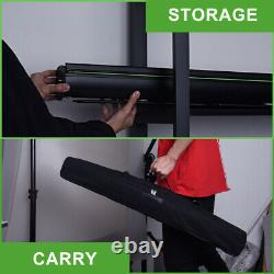 Photography Green Screen Backdrop 5 x 6.6 ft Collapsible Panel Background Kit