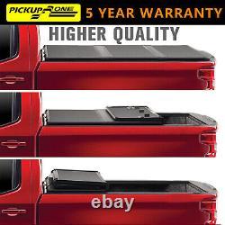 Pickupzone Tonneau Cover Hard Tri-Fold For 2009-2021 Ram 1500 new body 5.5FT