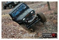 Poison Spyder Customs Hood Louver Panel-Powdercoat Wrangler YJ 13-53-010-PC