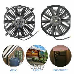Powerful 80W 12 inch Solar Attic Fan with 100W Solar Panel, Ventilates Your House