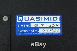 RARE! Quasimidi Rave-O-Lution 309 Black Panel Edition Synthesizer Drum Machine