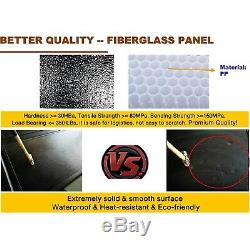 Ram 1500 5.7ft Bed Fits 09-18 Tonneau Cover Aluminum Hard Tri Fold Waterproof