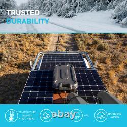 Renogy Eclipse 100Watts 12Volts Monocrystalline Solar Panel Black Aluminum Frame