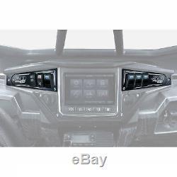 Ride Command CNC Dash Panel & Switches Polaris RZR XP1000 Turbo S 900 1000 Black