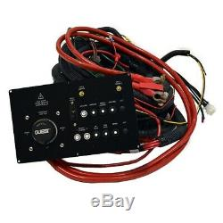 Rinker 270 With Ac Black Boat Breaker Switch Panel Kit With Wiring Harness 222346