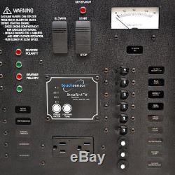 Rinker 320 Black Aluminum 110V 60Hz Boat Cabin Switch Breaker Panel (Second)