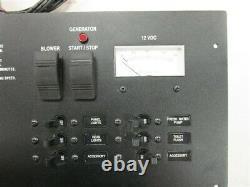Rinker 51078 Sensa Tank II / Breaker / Switch Panel Black Aluminum 18 X 9 Boat