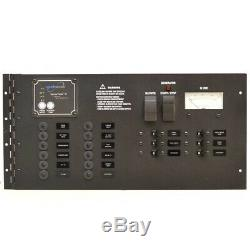 Rinker Boat Breaker Panel 12V Black 19 x 9 Inch Aluminum