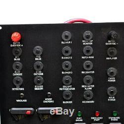 Rinker Boat Switch Panel Battery Breaker 10 x 16 Inch Aluminum