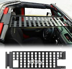 Roof Rack Hard Top Molle Panel Exterior Accessories for Jeep Wrangler JK 4Dr 07+