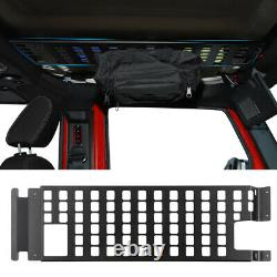 Roof Rack Hard Top Molle Racks Luggage Panel for 2007-18 Jeep Wrangler JK 4 Door