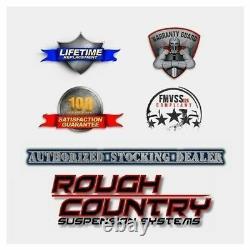 Rough Country Hood Louver Panel-Black, for 07-18 Wrangler JK 10527
