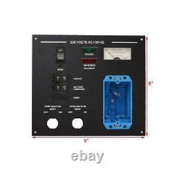 Sea Ray Boat Breaker Switch Panel 8517817 290 SLX Black Aluminum