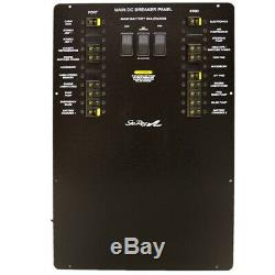 Sea Ray Boat Main Dc Breaker Panel 2022707 Sundancer 370 Aluminum