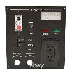Sea Ray Boat Outlet Breaker Panel 2018262 9 x 9 3/4 Inch 12 Volt