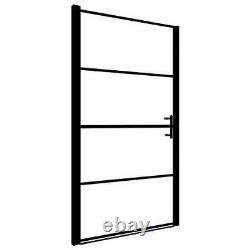 Shower Door Tempered Glass Black Shower Enclosure Panel Bathroom Home Shower