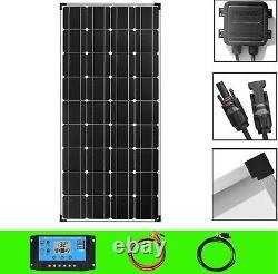 Solar panel 150w 300w 18V 12V 24V charger aluminum mono crystalline cells