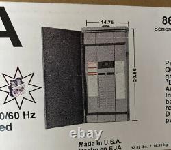 Square D Main Breaker 200 Amp 30-Sp 30-Cir QO Outdoor Load Center