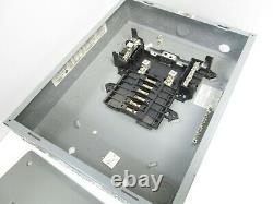 Square D QO116M100 QOC20U100C Load Center with Cover