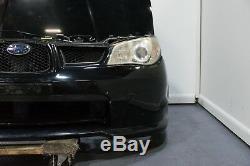 Subaru Version 9 06-07 WRX Wagon Front End Conversion Black Hawkeye Nose Cut