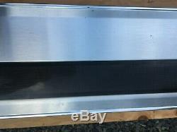 Tailgate Trim Panel FORD F150 Pickup Truck 92-96 Aluminum & Black F250 F350