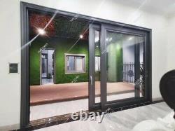 Teza Aluminum Sliding Patio Door 3 Panels 120 x 96 70 Series