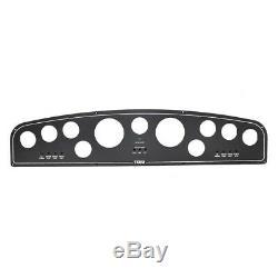 Tiara Boat Blank Gauge Panel 330306 30 Inch Black Aluminum