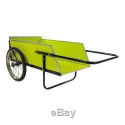 Utility Cart Heavy Duty Garden Aluminum Handle Portable Removable Front Panel