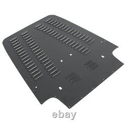 Vented Louvered Hood Panel Aluminum For Jeep Wrangler TJ 97-02