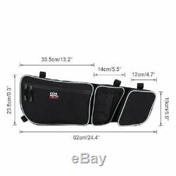 X3 Half Lower Door Panels + Side Door Bags For Can Am Maverick X3 Max 2017-20 4D