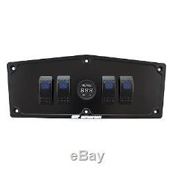Yamaha Yxz 1000r Billet Aluminum Black Switch Dash Panel + Free Switches + Usb